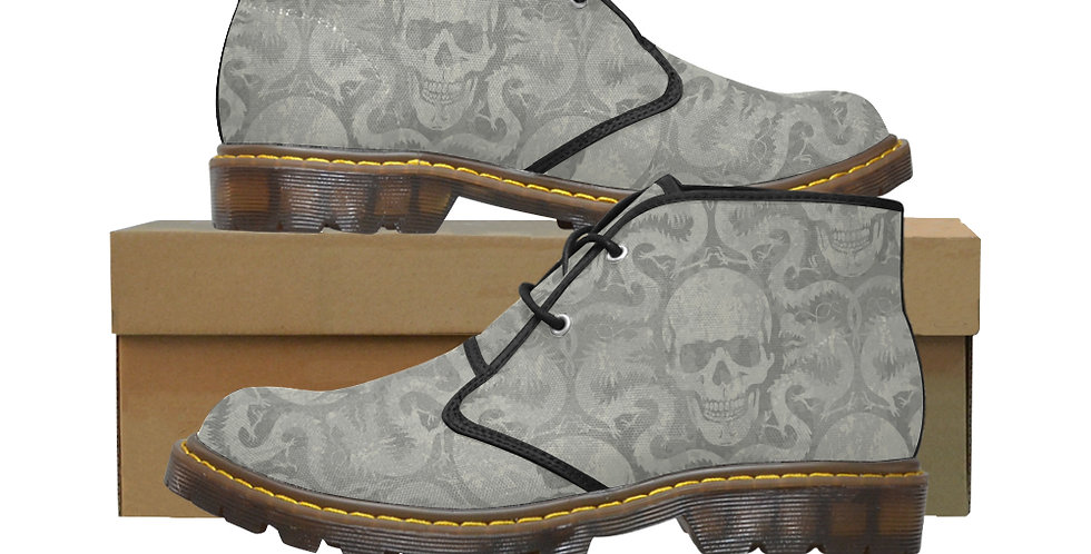 Men's Canvas Chukka Boots