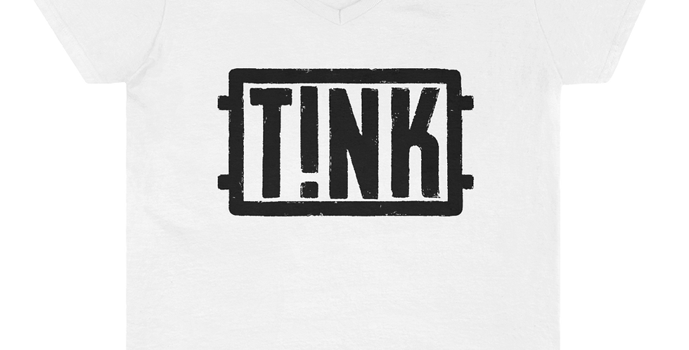 Antitinkerbell T!NK Women's Casual V-Neck Shirt