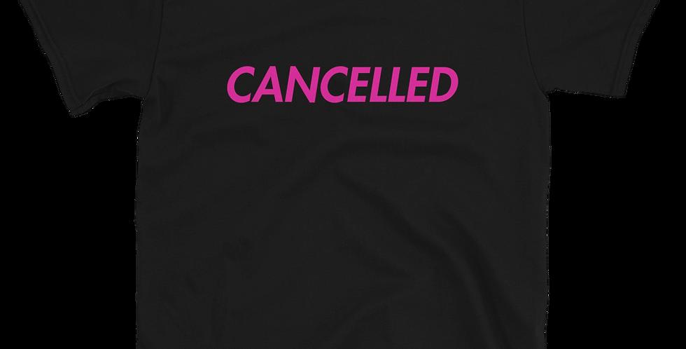 Tonzy Cancelled Short-Sleeve Unisex T-Shirt