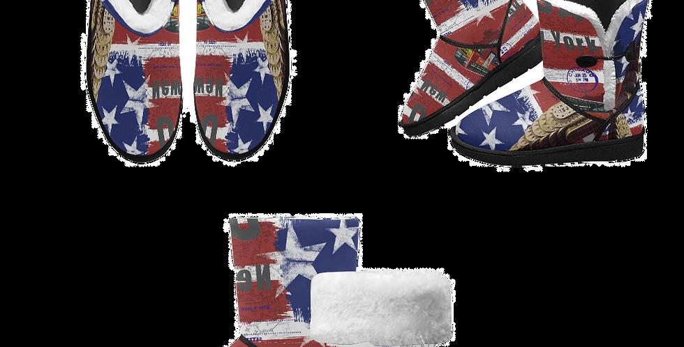 Men's Mid Calf Snow Boots