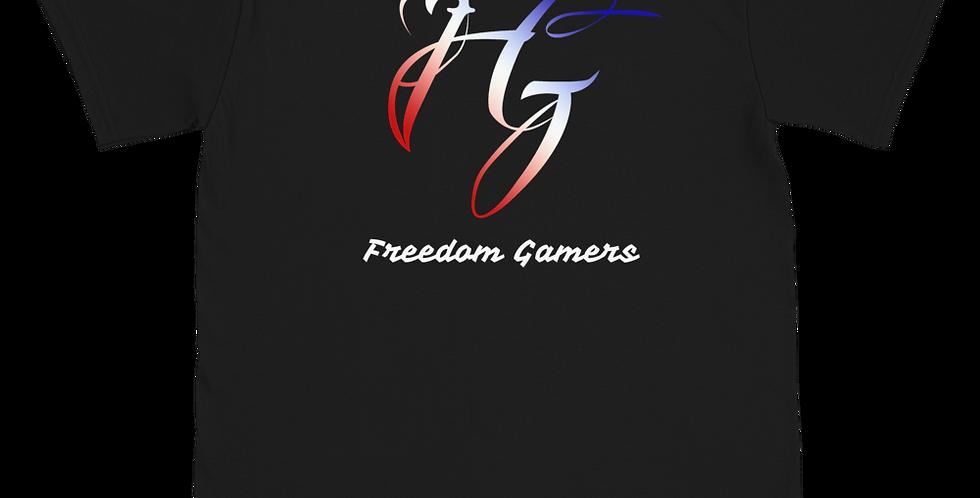 MarineVeteran Freedom Gamers Short-Sleeve Unisex T-Shirt