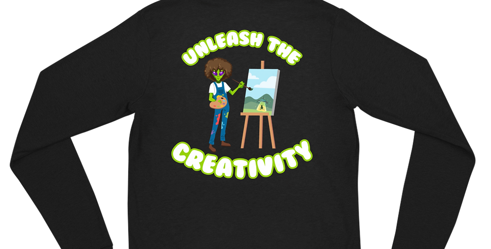 A 1000 Years Unleash the Creativity Unisex zip hoodie