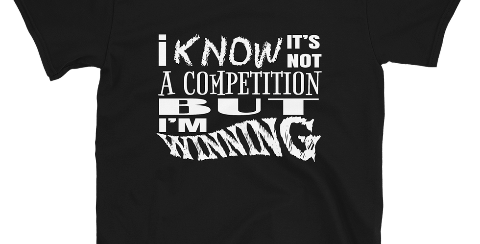PlanBPlays I'm Winning Dark Color Short-Sleeve Unisex T-Shirt