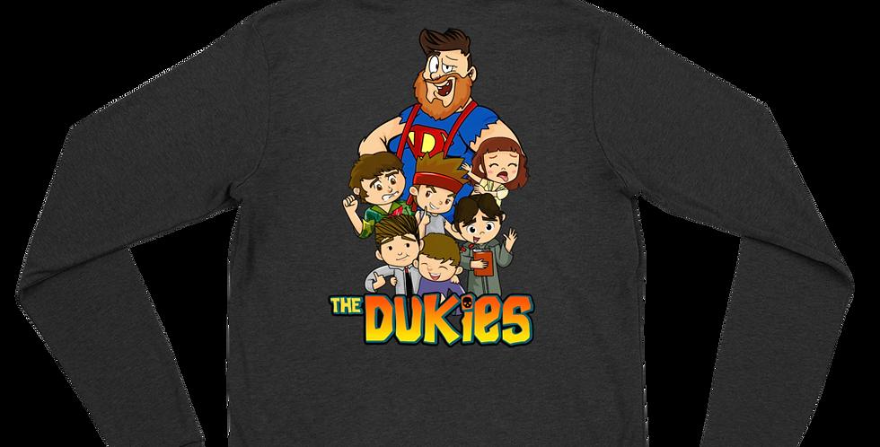 Duke of Flukes Dukies Unisex zip hoodie