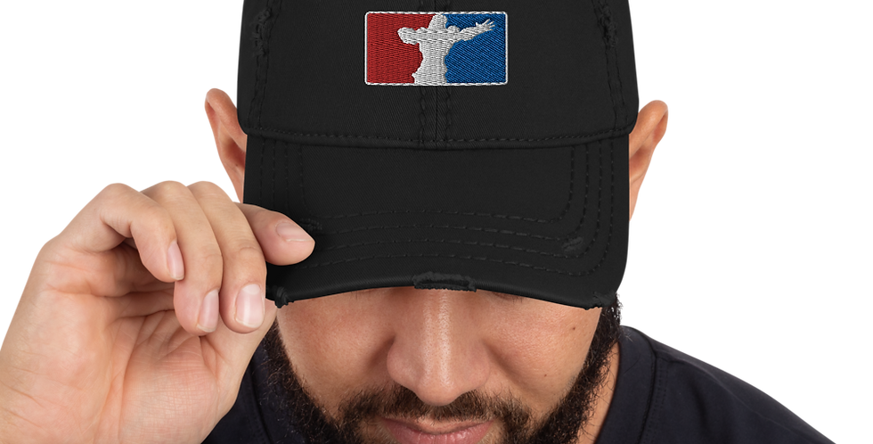 MLG GrifBall Distressed Dad Hat