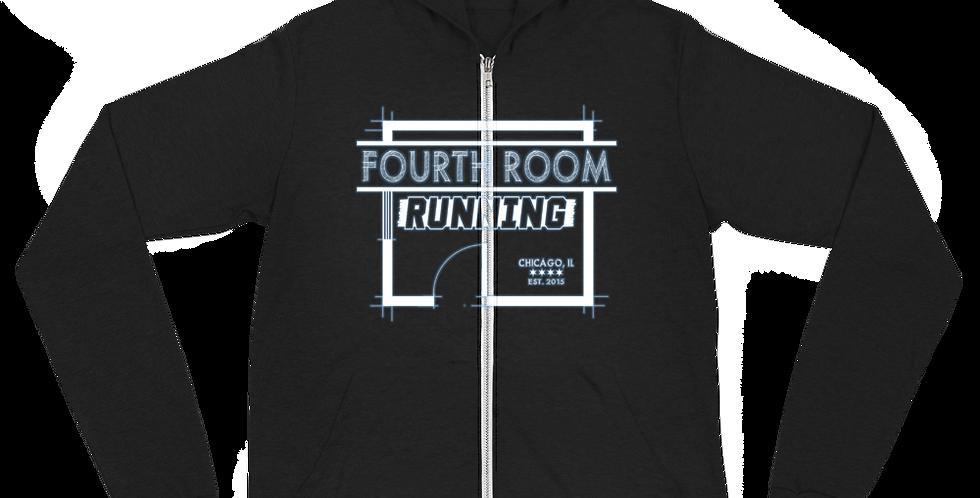 Fourth Room Brewing Fourth Room Running Unisex zip hoodie