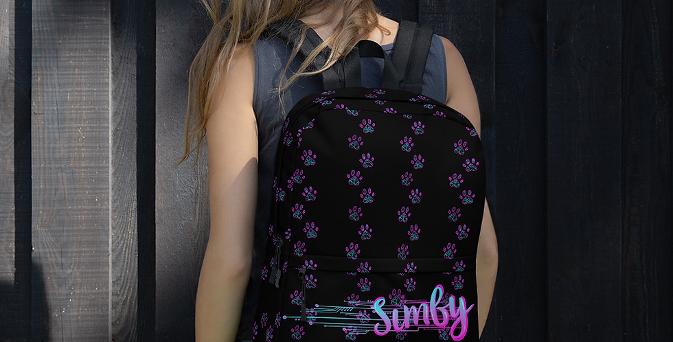 Simby Paw-tastic Backpack