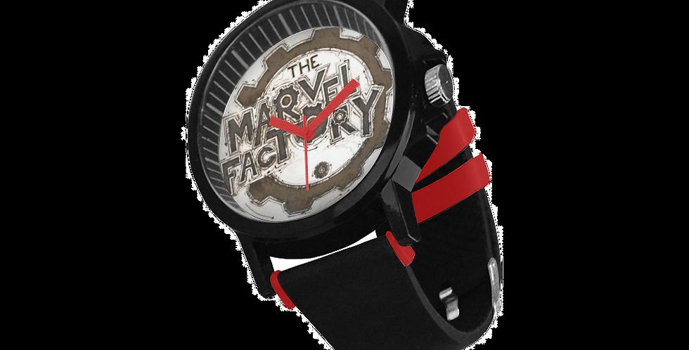 Unisex Silicone Strap Watch