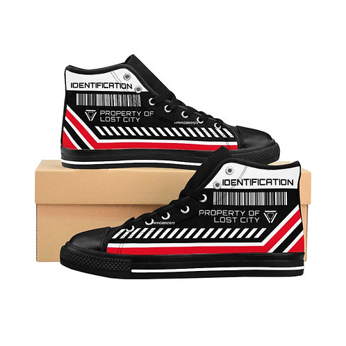 """""""INSPECTION PROPERTY"""" Men's High-top Sneakers"""
