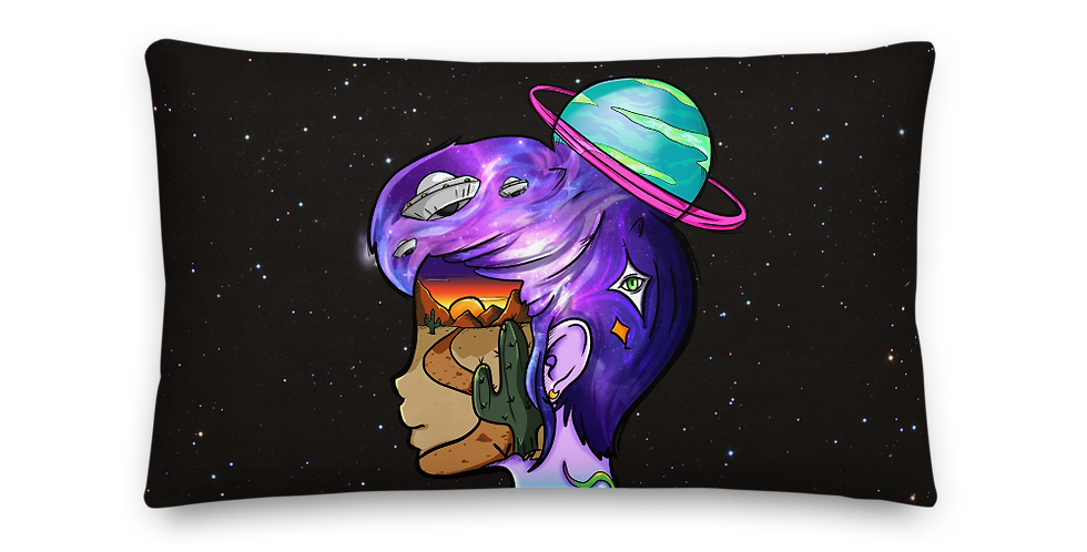 """""""Out of this World"""" Premium Pillow"""