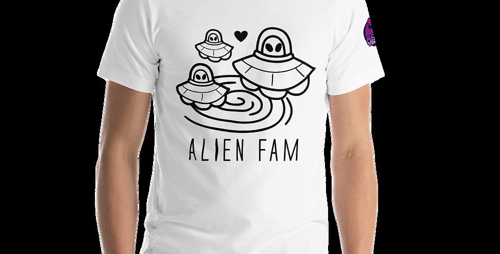 A 1000 Years Alien Fam Short-Sleeve Unisex T-Shirt