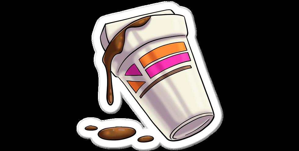 Casscage Coffee stickers