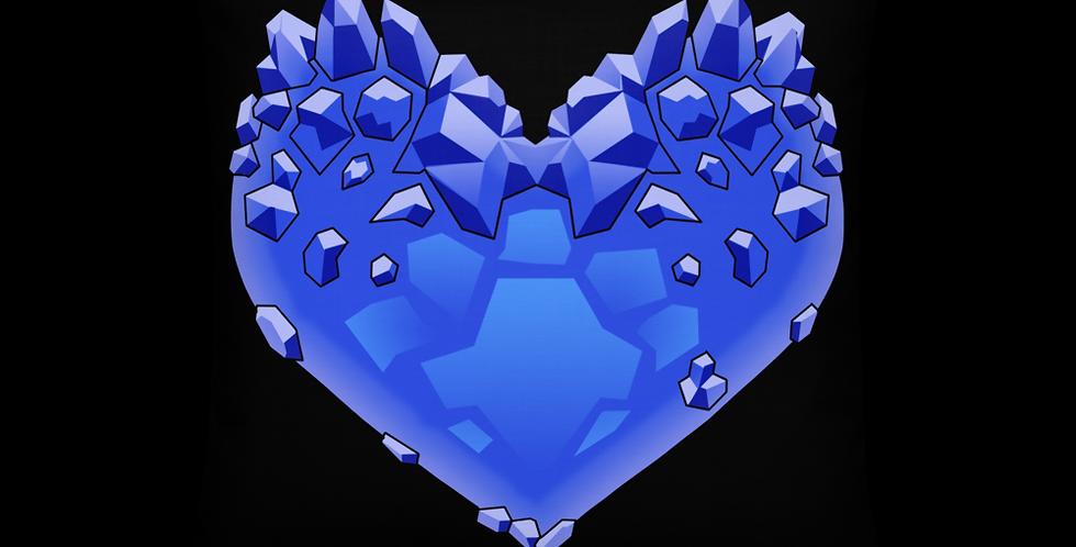 Casscage Crystal Heart Premium Pillow
