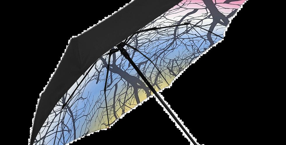 Anti-UV Automatic Umbrella (Underside Print)