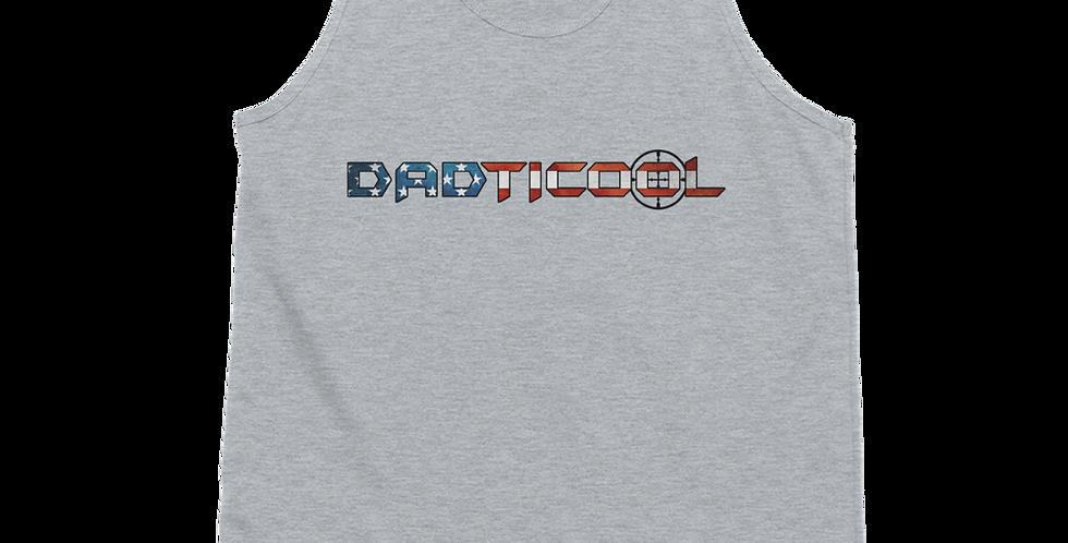Dadticool Logo Light Color Classic tank top (unisex)