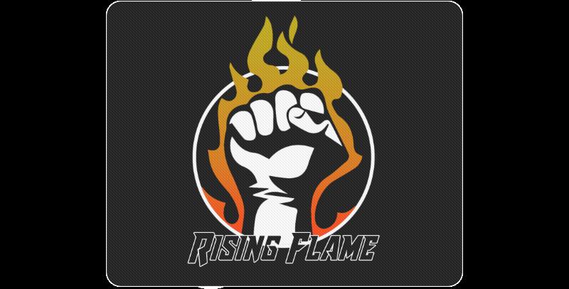 RisingFlame Logo Standard Mousepad