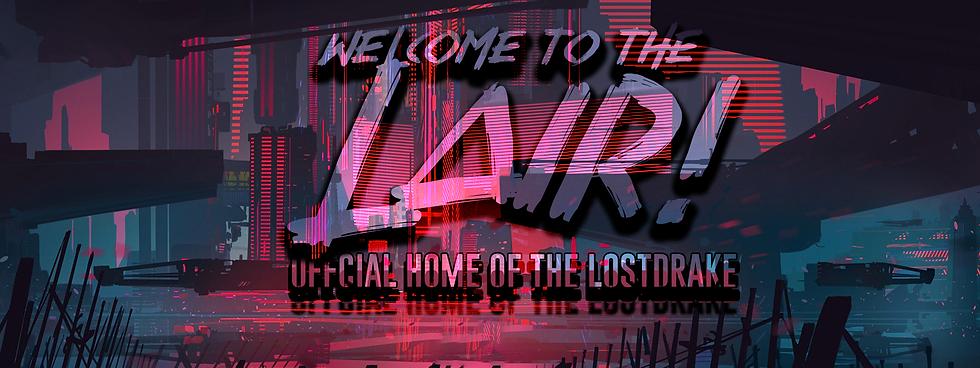 LostDrake Website Header Twitch.tv'thelo