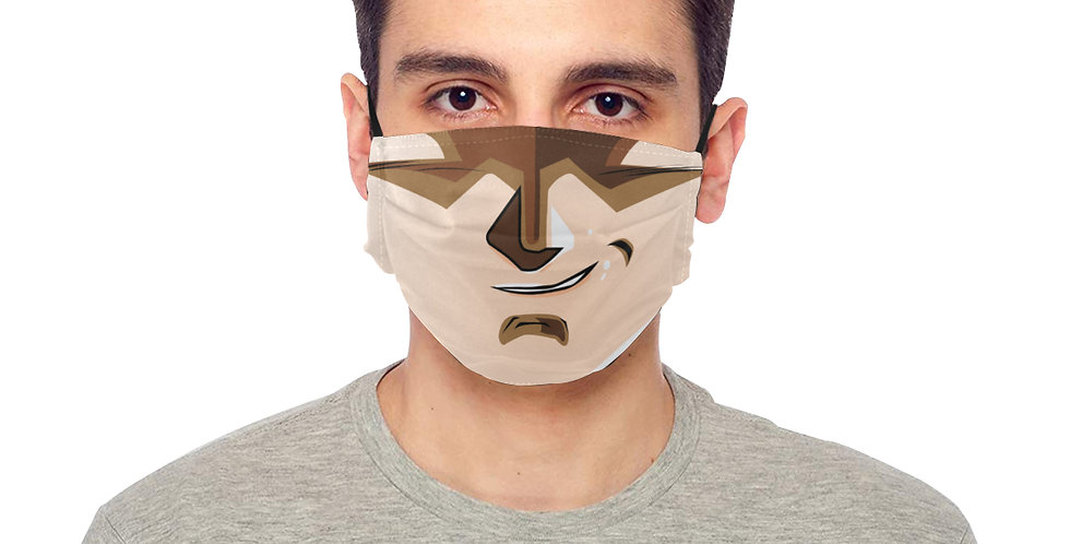 """BE SAFE """"ITS OVER 9000"""" MASK Design by Harusita"""