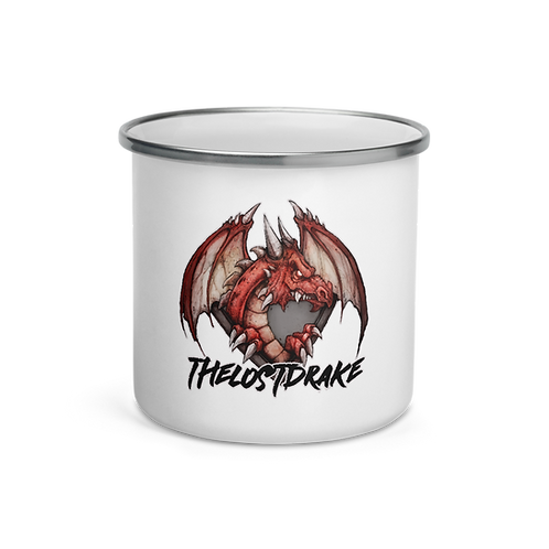 LostDrake Dragon ADVENTURE Enamel Mug