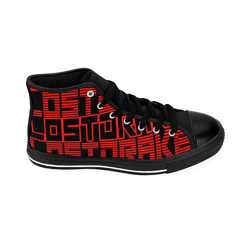 "LostDrake ""Spring and Repeat"" Women's High-top Sneakers"