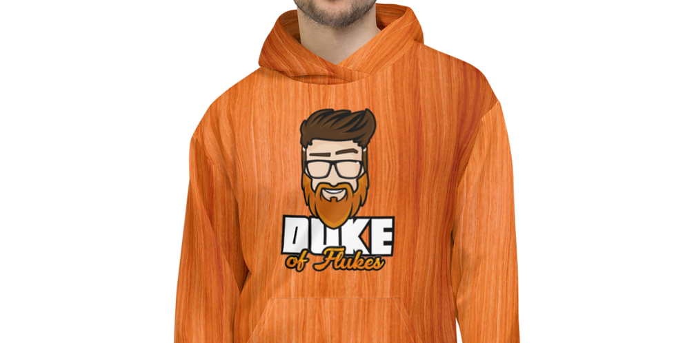 "Duke of Flukes ""The Woodie"" Unisex Hoodie"