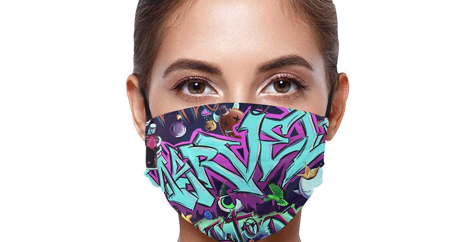 "BE SAFE ""Marvel Factory Street"" MASK Design by MuthaFlocka"