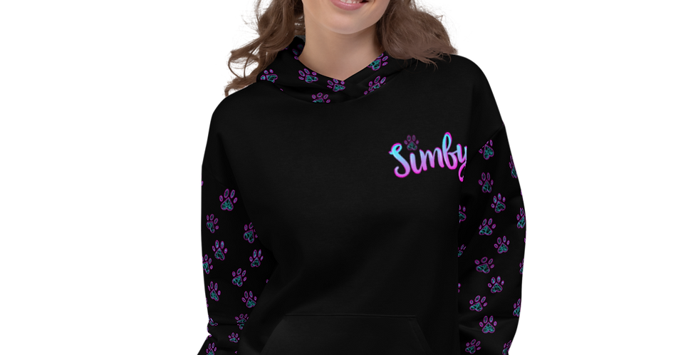 Simby's Pawsitive Vibes Unisex Hoodie