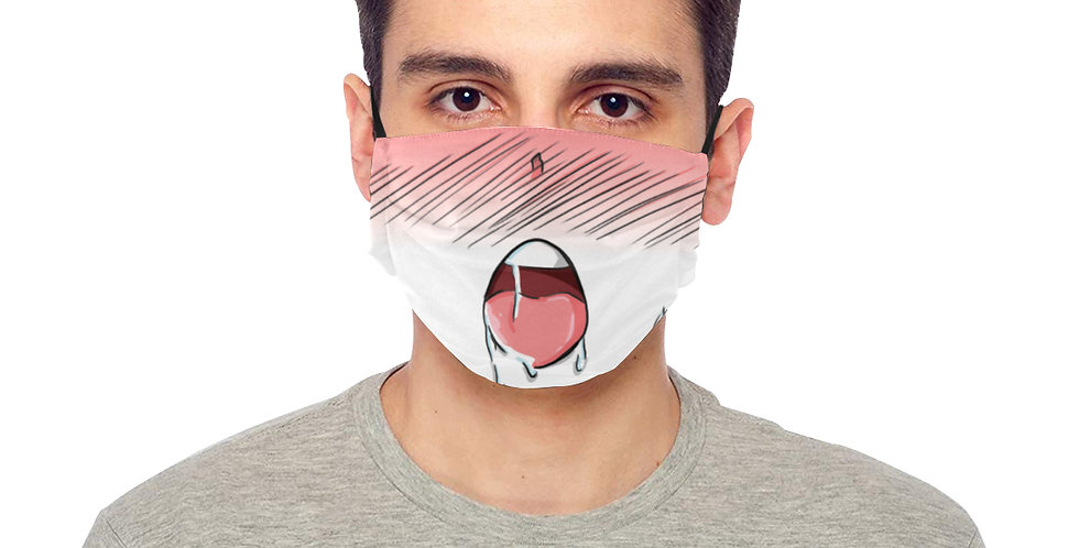 """BE SAFE """"EXHAUSTED ANIME"""" MASK Design by Harusita"""
