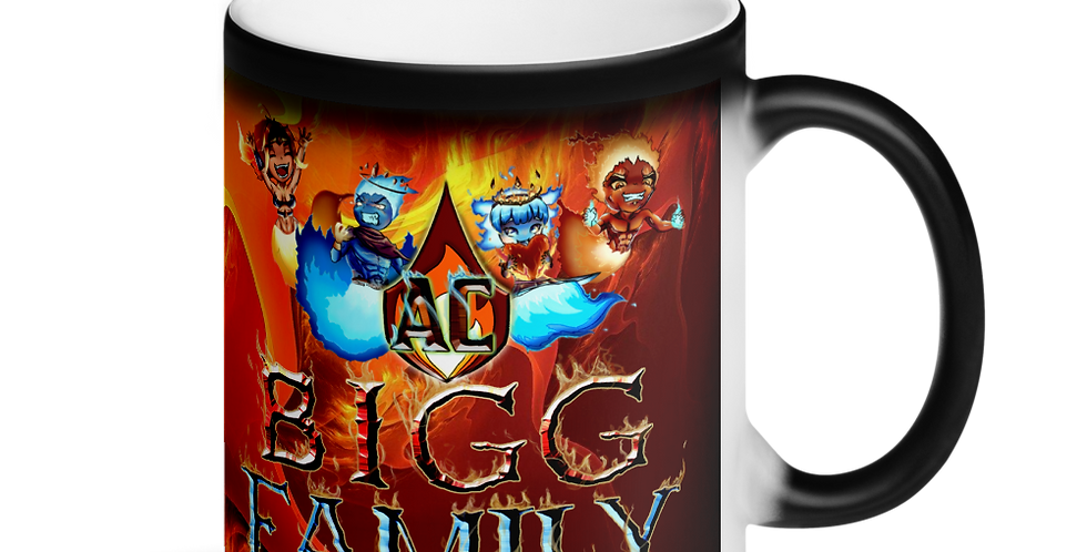BiggAC10 Matte Black Magic Mug