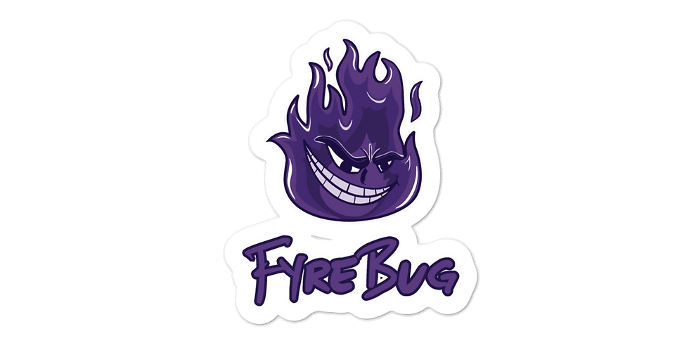 FyreBug Bubble-free stickers