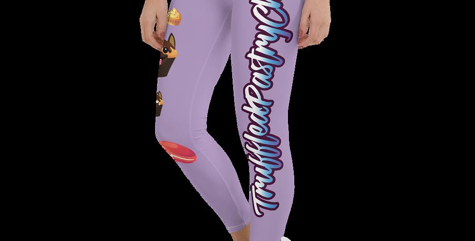 TruffledPastryChef Pupcakes Leggings - Light Purple