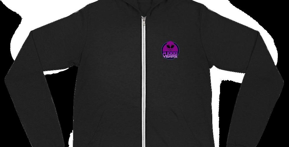 A 1000 Years We Out Here Unisex zip hoodie