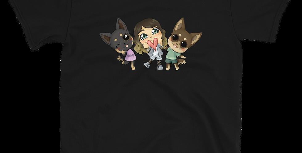 FlowDriver Animal Crossing Short-Sleeve Unisex T-Shirt