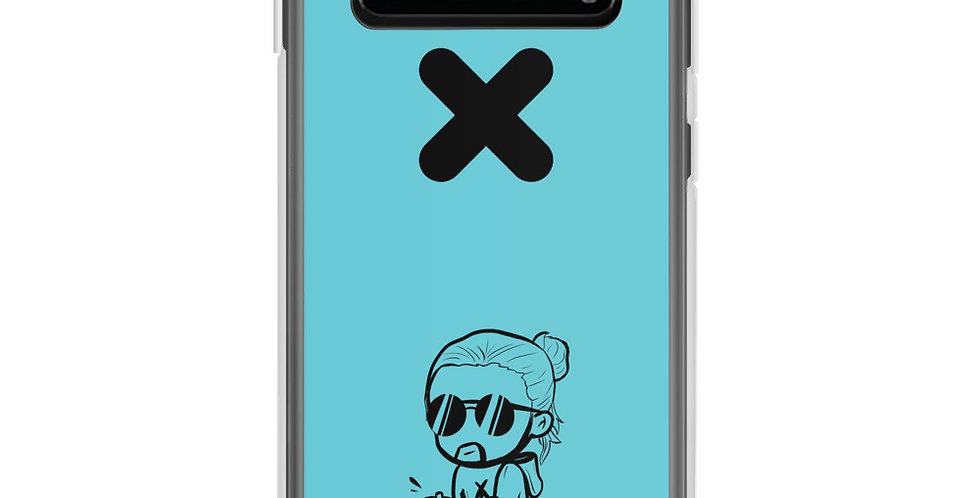 """Hadi """"Chibi GOT IT"""" Teal Samsung Case"""