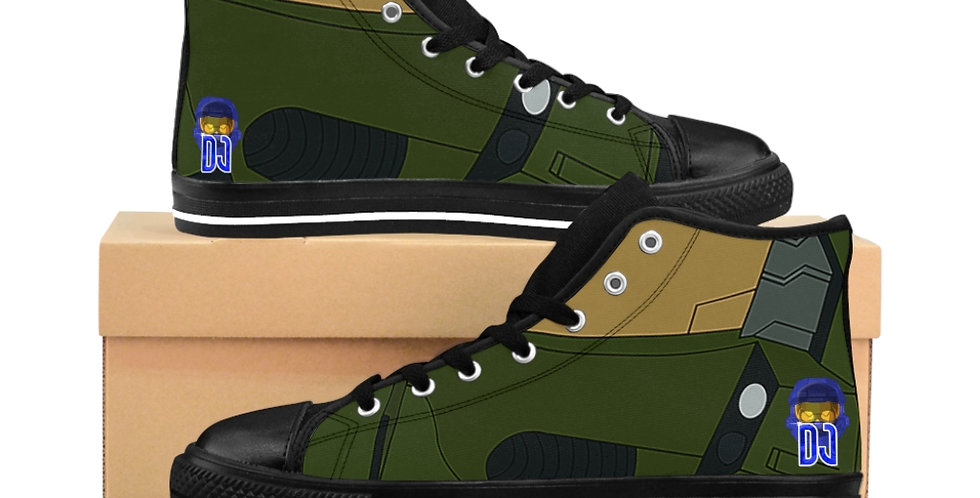 "DJBLUEPDX ""MC INSPIRED"" Men's High-top Sneakers"