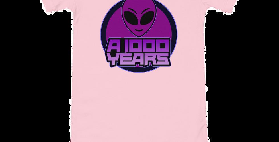 A 1000 Years Logo Baby Onesie