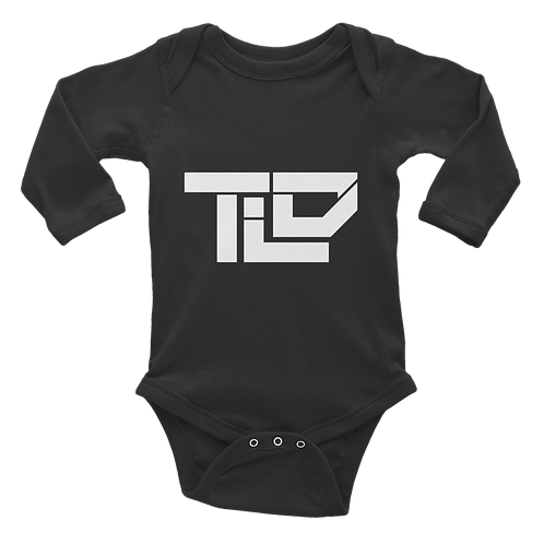 "TLD ""TheLostDrake"" StreetWear Baby Collection Infant Long Sleeve Bodysuit"