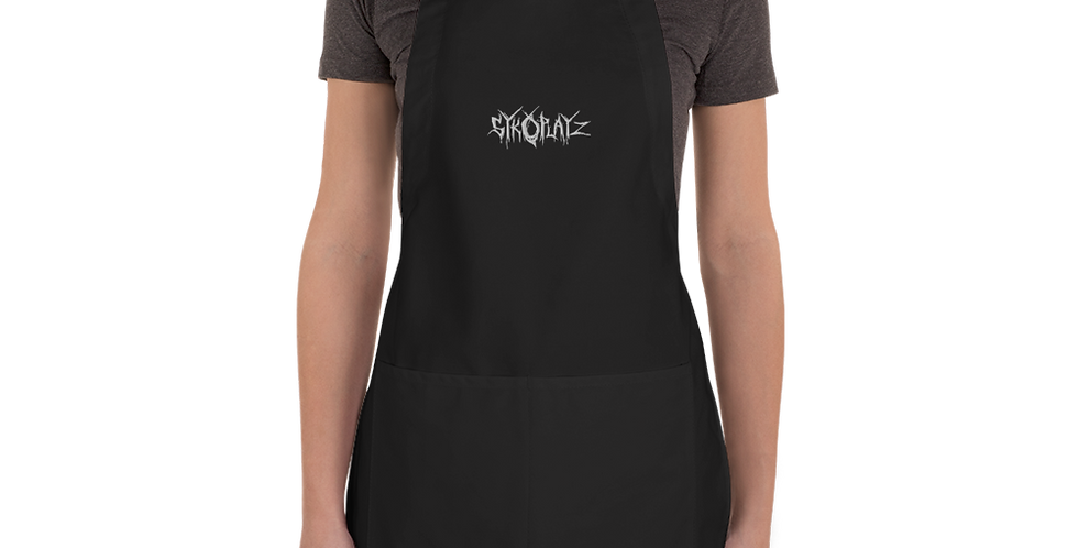 SykoPlayz Cooking Embroidered Apron
