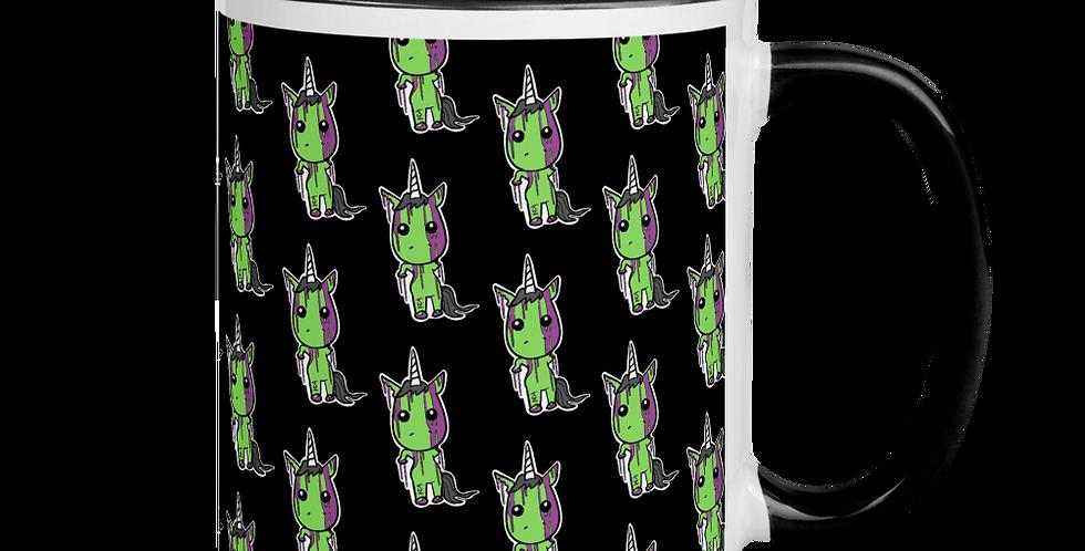 XzombieXgirlXx Zombie Unicorn Mug