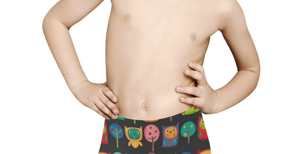 Kids' All Over Print Boxer Briefs