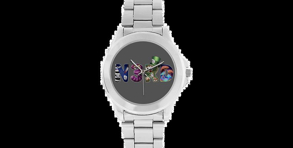 GlamVonGrimm Unisex Stainless Steel Watch