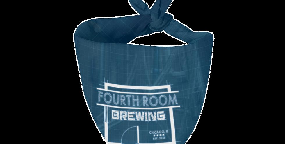 Fourth Room Brewing Logo Bandana