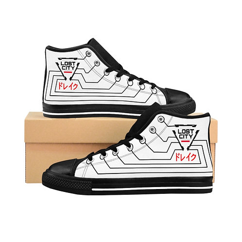 """""""CYBERNETIC INFUSION"""" Women's High-top Sneakers"""