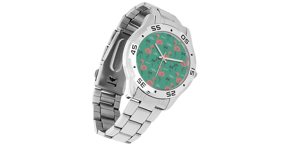 Men's Stainless Steel Analog Watch