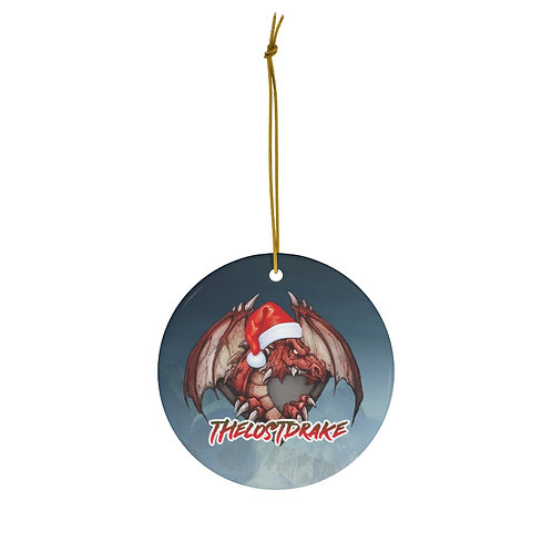 LostDrake Happy Holiday Ceramic Ornaments