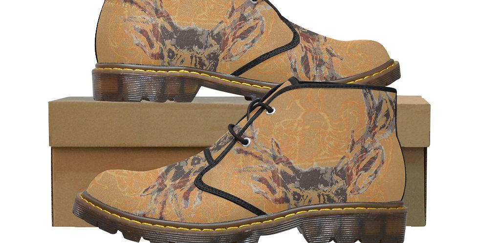 Women's Canvas Chukka Boots