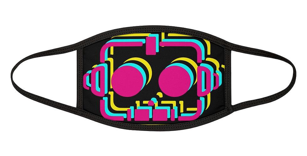 """RobotGiggles """"Robot"""" Mixed-Fabric Face Mask"""