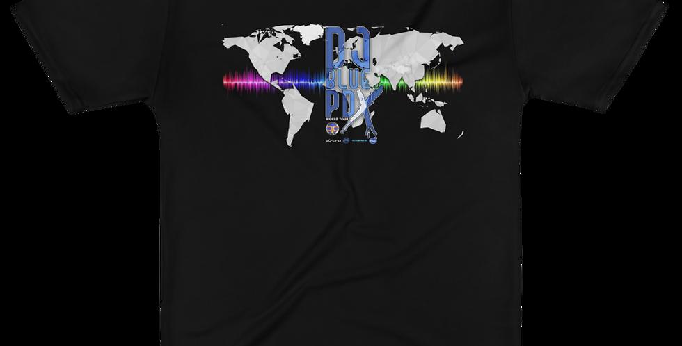 DJBLUEPDX WORLD TOUR SERIES T-shirt