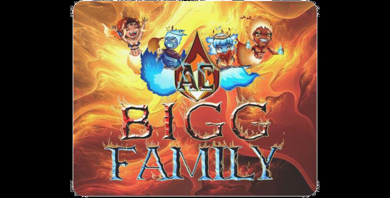 BiggAC10 Bigg Family Standard Mousepad