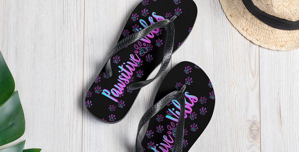 Simby PAwsitive Vibes Flip-Flops